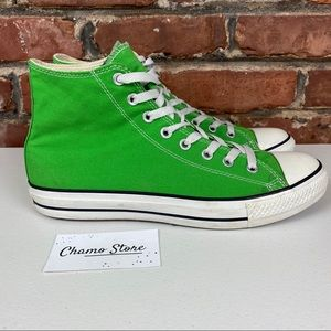 Converse All Star High Apple green